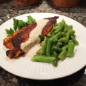 Blackened Fish Filets – Tilapia with Homemade Remoulade Sauce and Country Style Green Beans