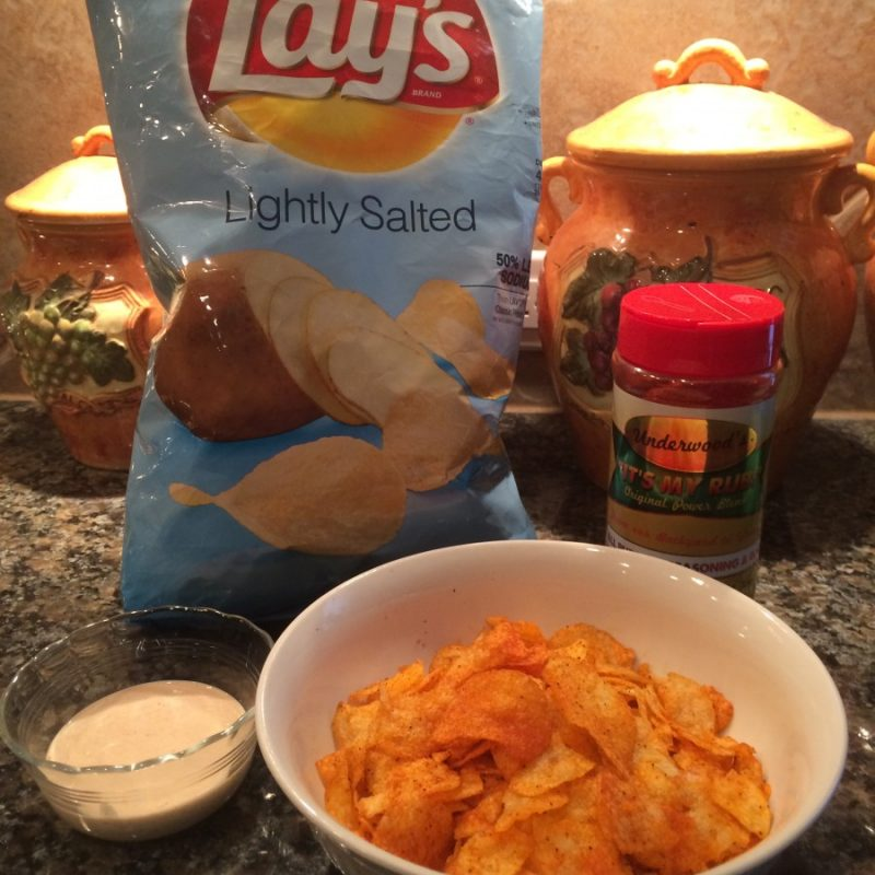 Best Barbecue Potato Chips Ever!
