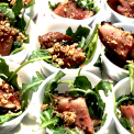 Award Winning Smoked Duck Breast with Arugula Salad